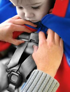 The Car Seat Poncho - the safe easy alternative to a bulky winter coat