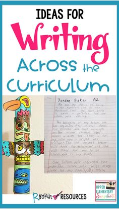How do you help embed the content of social studies into the minds of your students? Would they rather listen to a monotone lecture and take notes about the Northwest Coast or write about raising their own totem pole on the Northwest Coast? Paragraph Writing, Narrative Writing, Persuasive Writing, Writing Workshop, Writing Journals, Fourth Grade, Third Grade, Sixth Grade, Grade 1