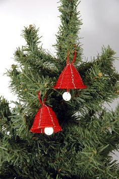 red beaded bell decorations christmas tree decorations africa christmas tree ornaments afro - African Christmas