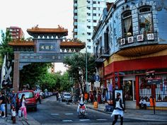 Barrio chino, (China town) Buenos Aires city. In Belgrano