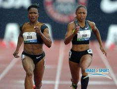 carmelita jeter and allyson felix #inspiration