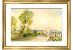 Suffolk Watercolor II on OneKingsLane.com