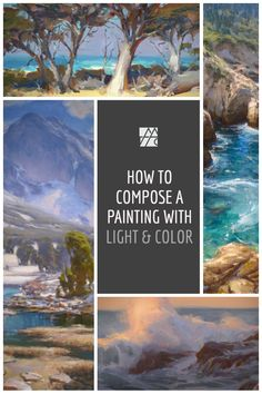 Light & color creates an engaging painting. Learn how to paint trees, rocks, water and mountains with loose brushstrokes in oil. Art videos for beginners in oil on canvas. California Landscape painting with John Burton. Click to learn more about these downloadable videos or stream online. NUEVA serie de videos instructivos ¡Haz clic en la imagen para ver tus videos de arte hoy!