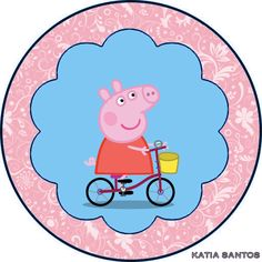 h Peppa Pig Printables, Teddy Pictures, Cake Toppers, Decorative Plates, Frozen, Kids Rugs, Disney, Party, Html
