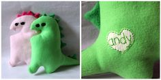 Super cute softy from Little Pink Monster! I made one over the summer... easy and adorable!