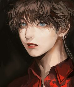 Pure beauty 😬😵😍😍V - Pure beauty 😬😵😍😍V - Taehyung Fanart, Vkook Fanart, Bts Taehyung, Bts Anime, Anime Guys, Bts Chibi, Bts Art, Maila, Kpop Drawings