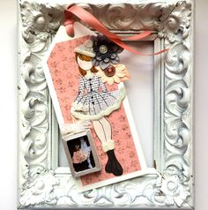 Julie Nutting Prima Doll by Jackie Benedict with her own Paper Doll!
