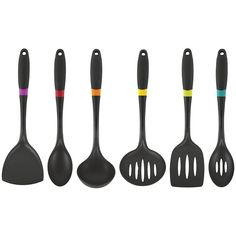 Core Kitchen Tokyo Six-Piece Utensil Set ($20) ❤ liked on Polyvore