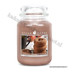 Sugared Cinnamon Donut  Goose Creek Candle  Large Jar