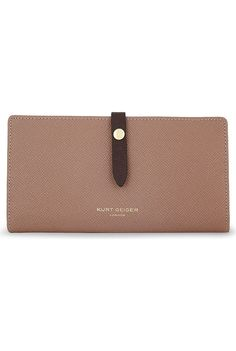 KURT GEIGER LONDON - Soft Saffiano leather wallet   Selfridges.com