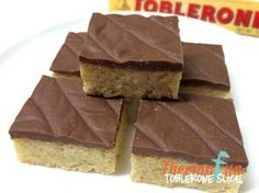 Recipe Toblerone Slice - ThermoFun by leonie, learn to make this recipe easily in your kitchen machine and discover other Thermomix recipes in Baking - sweet. Thermomix Desserts, Dessert Recipes, Toblerone Cake, Bellini Recipe, Decadent Food, Recipe Sites, Tray Bakes, Melting Chocolate, Sweet Recipes