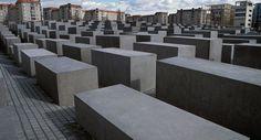 Le Mémorial de l'Holocauste à Berlin, en Allemagne.