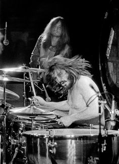 John Bonham and John Paul Jones were just as awesome together as the rhythm section of the band as Jimmy and Robert were as front men.