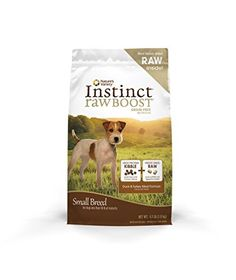 Natures Variety Instinct Raw Boost Small Breed Grain Free Duck Meal Formula Dry Dog Food 41 lb Bag >>> Check out this great product. (Note:Amazon affiliate link) #DogFood