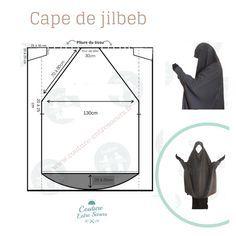 Motif Abaya, Abaya Pattern, Jacket Pattern, Turban Hijab, Hijab Niqab, Muslim Dress, Hijab Dress, Muslim Hijab, Techniques Couture