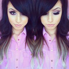 hairstyles, makeup, nails,