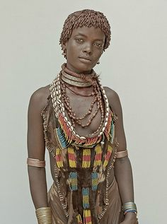 Africa | 'Ethnography' Portraits from the Omo Valley, Ethiopia | © Philip Gatward