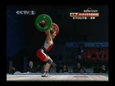 58K class snatch video. I'll be good one day, too