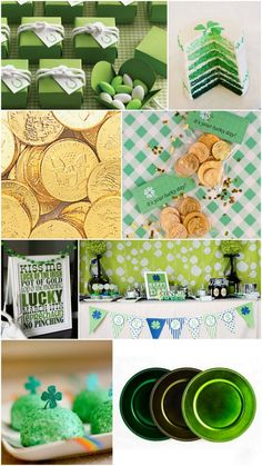 Adorable St. Patrick's Day Party Decor!  From The Daily Design