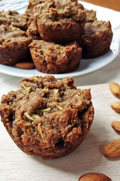 These Zucchini Muffins are gluten-free, egg-free, dairy-free, yeast-free and super easy to make. | tiaskitchen.com