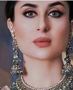 ideas bridal party makeup eyebrows for 2019 Glam Makeup, Party Makeup, Bridal Makeup, Wedding Makeup, Kareena Kapoor Khan, Deepika Padukone, Indian Celebrities, Bollywood Celebrities, Bollywood Actress