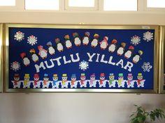 PENGUENLERLE YENİ YIL School Decorations, Activities For Kids, Children, Projects, Classroom, January, Winter, Noel, Kids