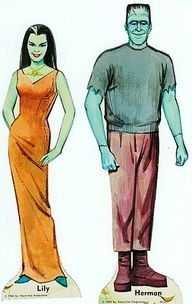 The Munsters paper dolls - Google Search
