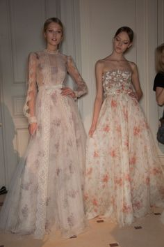 mulberry-cookies:Backstage @ Valentino S/S 2012 Couture