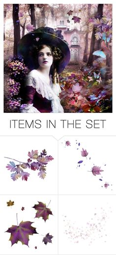 """""""Sweet Autumn Plums"""" by almadiana ❤ liked on Polyvore featuring art and vintage"""