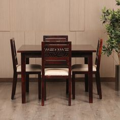 08169814be1 Four Seater Dining Table with Best and Premium quality Furniture at F9  Furniture.  diningtable