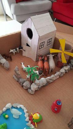 Çiftlik duyusali Montessori, Fun Crafts, Gingerbread, Bird, Education, Grandchildren, Outdoor Decor, Home Decor, Kids Education