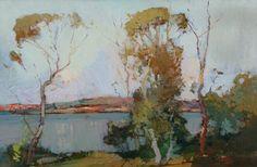 Sydney Long.  Lake Scene.  http://www.art.net.au/art-detail.asp?idImage=9680=558