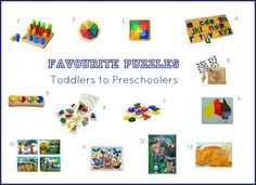 Favourite Puzzles Toddlers to Preschoolers - how we montessori