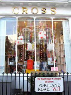 The Cross Shop Shop Interiors, Ladder Decor, Galleries, Shops, London, Silk, Wool, Frame