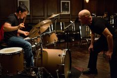 The Oscar-nominated film Whiplash pictured above portrays the intense and at times abusive relationship between aspiring jazz drummer Miles Teller and his teacher JK Simmons. Miles Teller, Jk Simmons, Netflix, Damien Chazelle, Drum Solo, Bon Film, Recent Movies, Full Metal Jacket, Everything