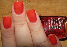 Chanel Nail Glaze Quick Dry - Red Tint