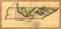 Tennesseee - - Panoramic Map (Art Print Available) Vintage Wall Art, Vintage Walls, Tennessee Map, Visit Tennessee, Clip Art, Free Canvas, Stock Art, Poster Prints, Art Prints