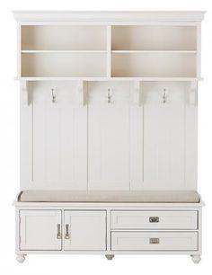 Vernon Hall Tree - Mudroom Storage - Hall Tree - Entryway Storage - Storage Cabinet | HomeDecorators.com $799
