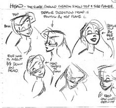 Walt Disney Model Sheets - Princess Ariel - walt-disney-characters Photo
