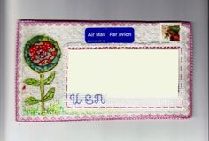 Mail art by Vikinglady of ATC's For All. Click to view original