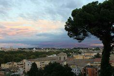 Zonsondergang  Rome