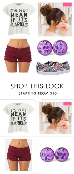 """""""Untitled #17"""" by dezy-gal on Polyvore featuring Wildfox, Billabong and Vans"""