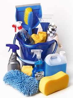 It's impossible to tackle any big job without the proper tools — and spring cleaning is no exception. Is your cleaning cabinet stocked properly? #springcleaning #cleaning