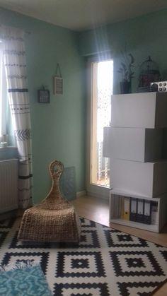 Wohnzimmer Mit Ikea Alseda Hocker Und Ikea Ps Gullholmen