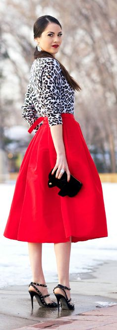 Hi-Low skirt outfit idea #3. Wear a hi low skirt with an ...