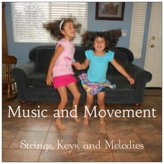 Music and Movement:  Carnival of the Animals Great movement ideas for the different movements
