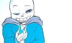 Sans no you aren't stop hiding your feels we can help STAHP IT