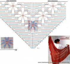 Knitted shawls and capes. Talk to LiveInternet - Russian Service Online Diaries