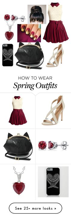 """""""Date Outfit"""" by chibi-shinigami on Polyvore featuring BCBGMAXAZRIA, BERRICLE, Heels, dress, bag, jewelry and dateset"""
