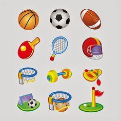 sports equipment design coreldraw format